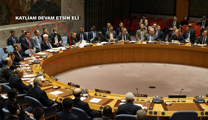 Rusya, Halep'teki katliamları durduracak tasarıyı veto etti