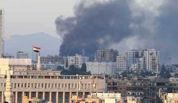 Rusya'nın Şam Büyükelçiliğine havan toplu saldırı