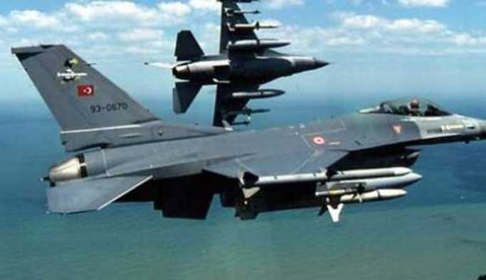 Siirt'te terör hedefleri savaş jetleriyle vuruldu