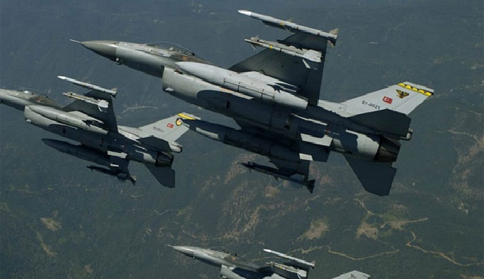 Şırnak'ta hava harekatı: 15 terörist öldürüldü