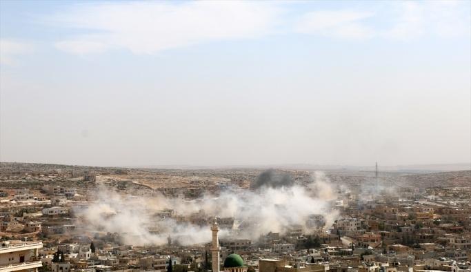 Rus savaş uçağı Halep'i bombaladı, 1 çocuk öldü