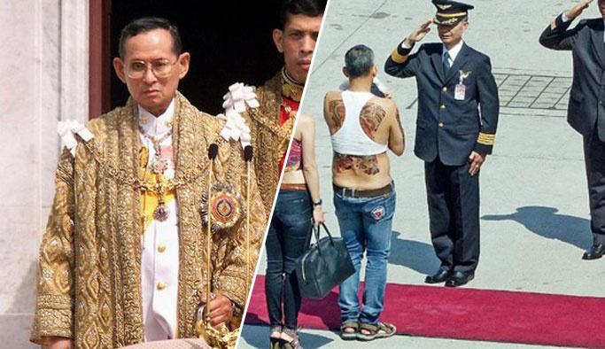 Tayland'a 'düşük bel' kral
