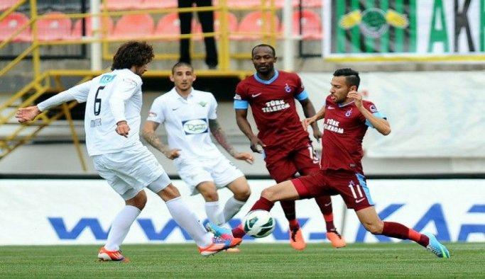 Trabzonspor ile Akhisar Belediyespor, 9. randevuda