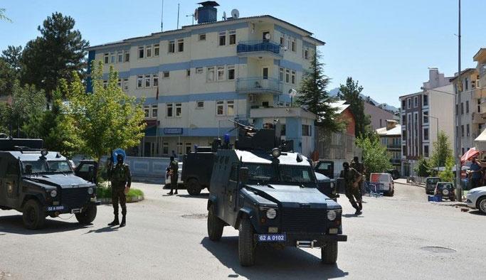 Tunceli'de 6 polis gözaltına alındı