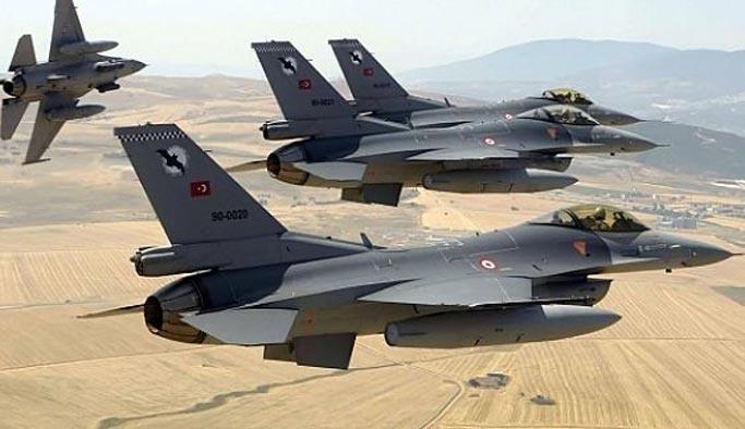 Türk Savaş Uçakları Musul operasyonunda