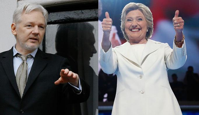 Wikileaks, Clinton'la ilgili yeni belgeler yayınladı