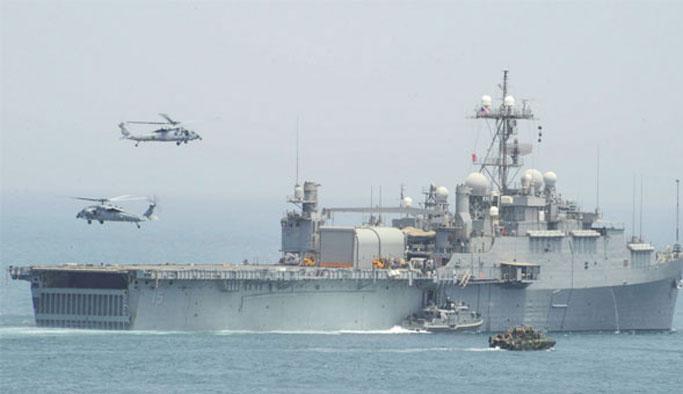 Yemen'de ABD savaş gemisine füzeli saldırı