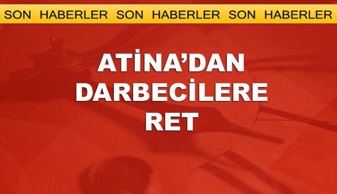 Yunanistan 7 darbecinin sığınma talebini reddetti