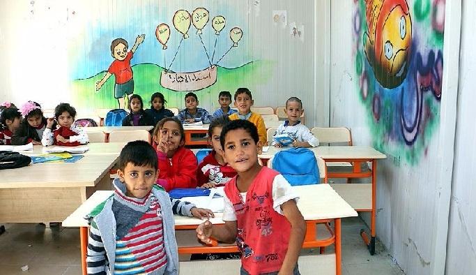 """21 bin Suriyeli çocuk """"uyum"""" eğitimi aldı"""