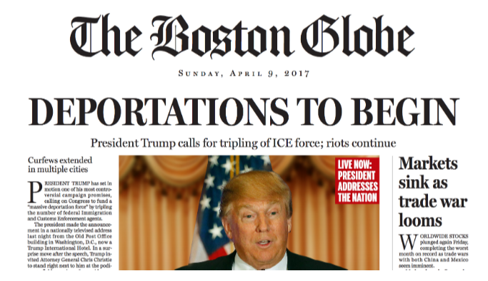 ABD basınında Trump'ın başkanlığı