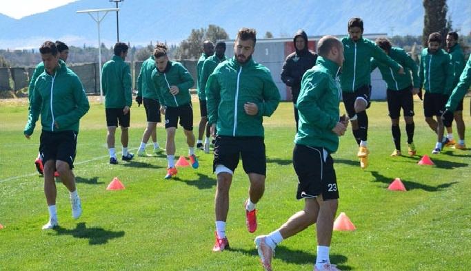 Akhisar Belediyespor'da Bursaspor maçı hazırlıkları