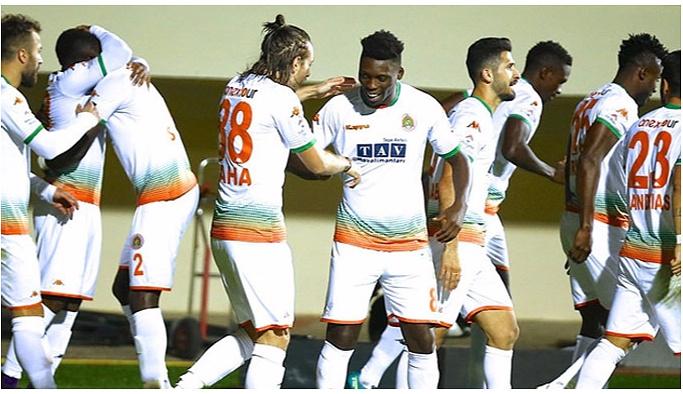 Alanyaspor, Kayserispor'u 3-0 yendi