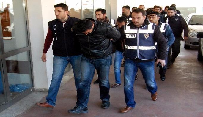 Amasya'da 17 gözaltı