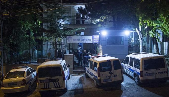 Ankara'da polis merkezine silahlı saldırı