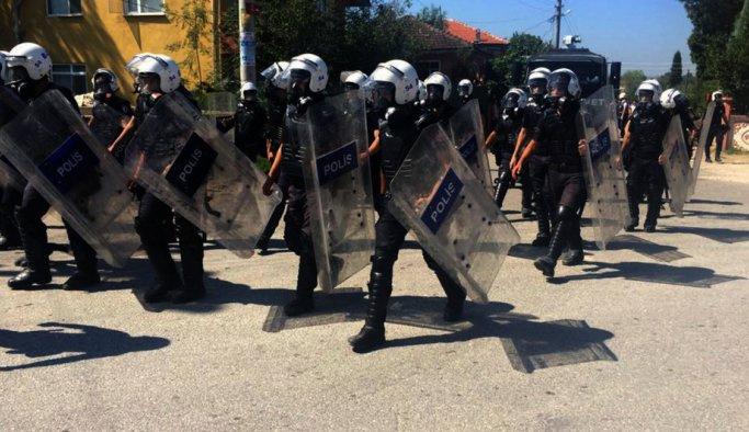 Ankara'da protesto gerilimi
