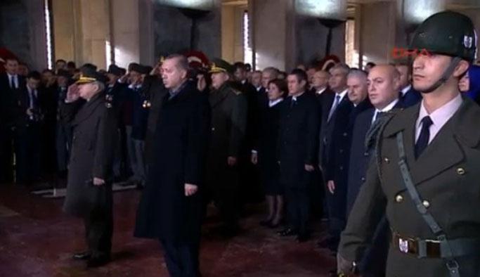 Atatürk ölümünün 78. Yılın'da anılıyor