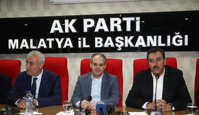 Bakanlar Kılıç ve Tüfenkci, Malatya'da