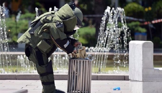 Başkentte şüpheli çanta paniği
