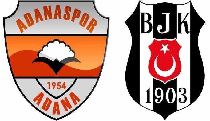 Beşiktaş ile Adanaspor 12 yıl sonra karşı karşıya