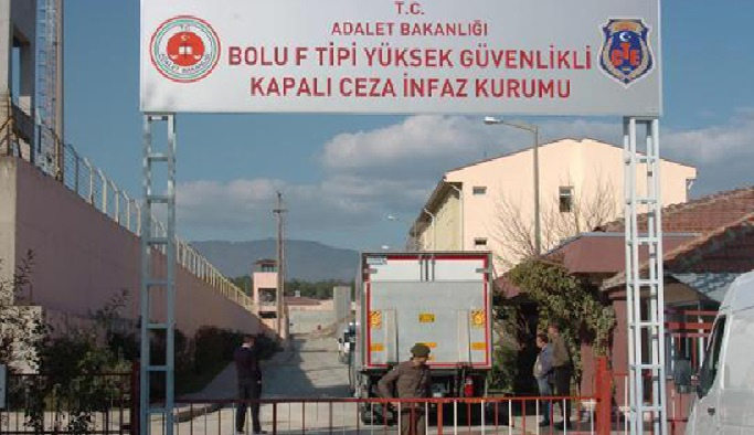 Bolu'da İnfaz koruma memurları'na gözaltı