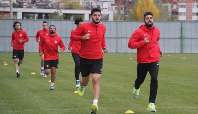 Boluspor'da Altınordu maçı hazırlıkları