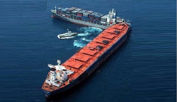 Çanakkale'de gemi kazası