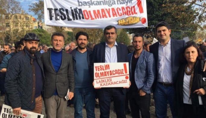 CHP milletvekilleri HDP mitinginde