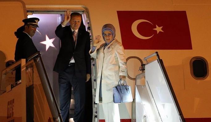Cumhurbaşkanı Erdoğan Belarus'a gitti