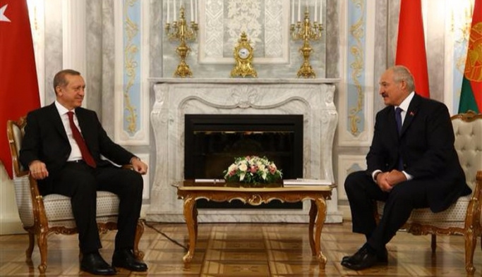 Erdoğan Minsk Camii'nin açılışına katıldı