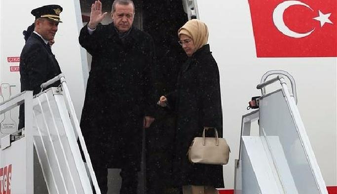 Cumhurbaşkanı Erdoğan'ın Özbekistan ziyareti