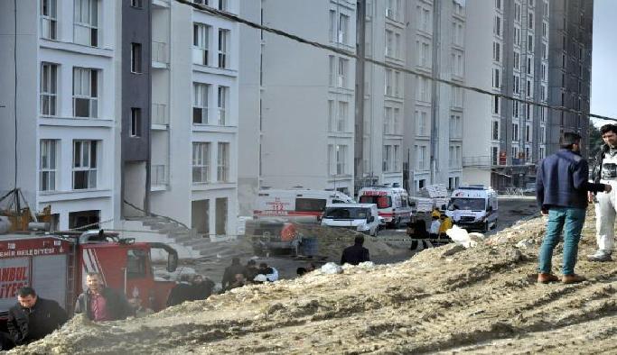 Dış cephe asansörü koptu 2 işçi hayatını kaybetti