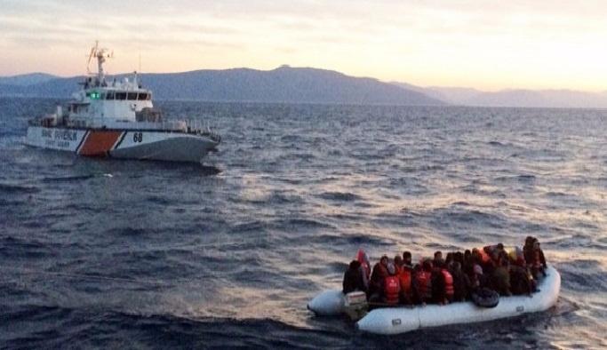 Ege Denizi'nde yasa dışı geçiş'e engel