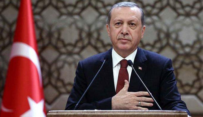 Erdoğan Al Saadi'yi kabul etti