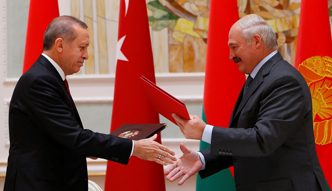 Erdoğan'dan Belarus'a 'tarafsızlık' teşekkürü