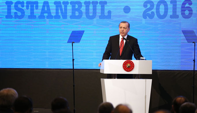 Erdoğan: Teröristlerin elinde dostlarımızın silahı var