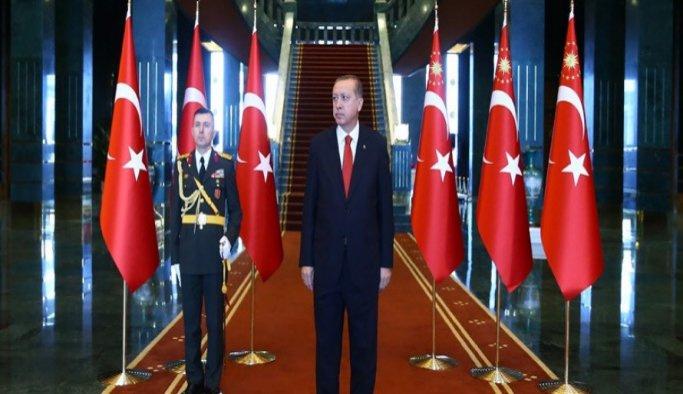 Erdoğan, Şopanda'yı kabul etti