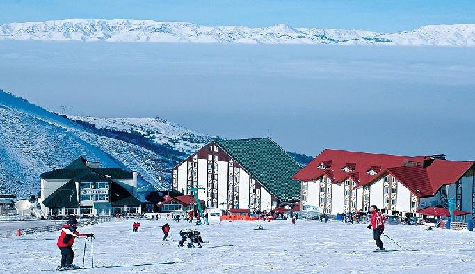 Erzurum'da kayak heyecanı başlıyor