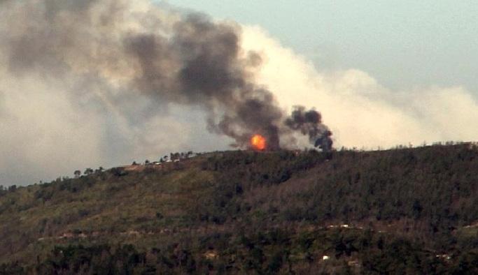 Esed rejimi, Türkmen dağına saldırıyor