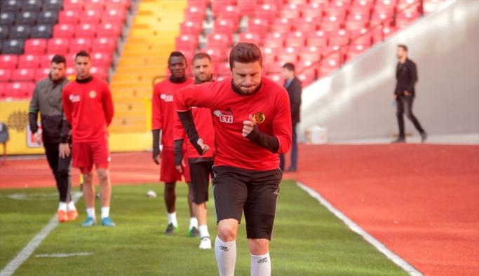 Eskişehirspor'da Yeni Malatyaspor maçı hazırlıkları