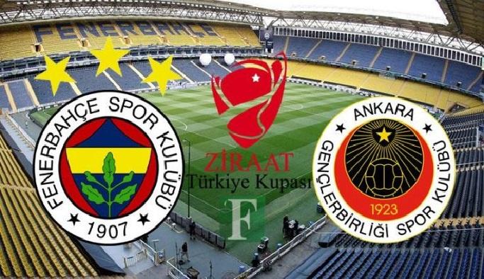 Fenerbahçe'de kupa mesaisi başlıyor