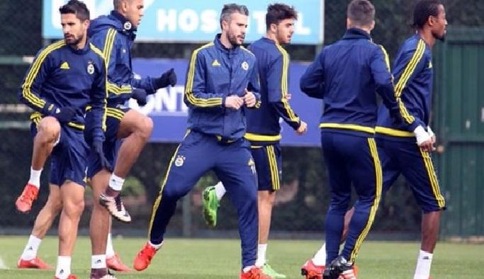 Fenerbahçede, Galatasaray derbisinin hazırlıkları sürüyor