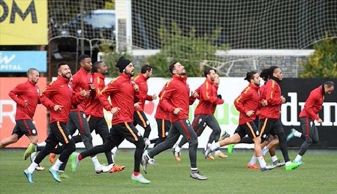 Galatasaray'da kupa maçı hazırlığı