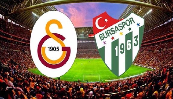 Galatasaray ile Bursaspor'un 95. randevusu