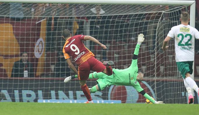 Galatasaray, Bursa'yı 3-1 yendi