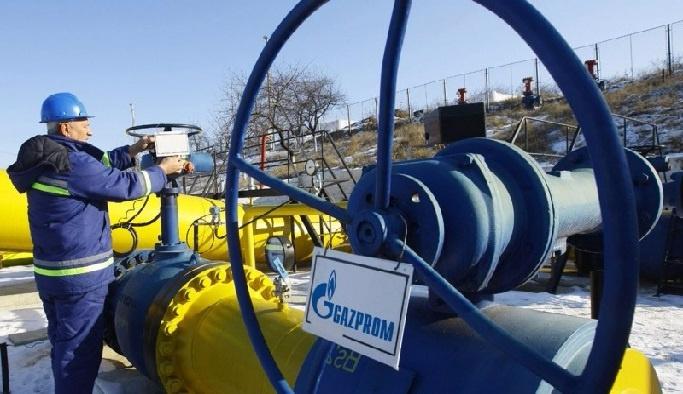 Gazprom'un Türkiye'ye doğalgaz ihracatı azaldı