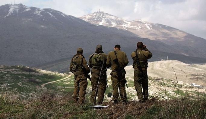Golan Tepeleri'nde İsrail askerlerine saldırı