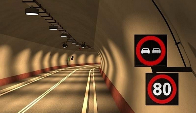 Gümüşhane'ye, Avrupa'nın en uzun tüneli