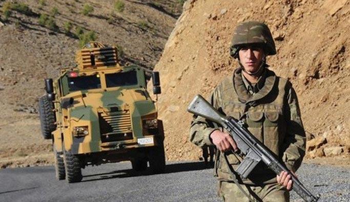 Hakkari'de saldırı: Bir asker şehit