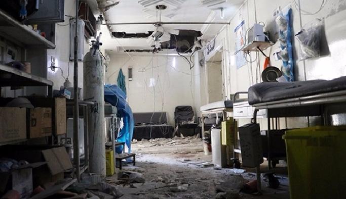 Halep'te hastane hizmetleri durduruldu