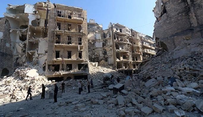 Halep'te yerleşim yerlerine saldırı: 46 Ölü